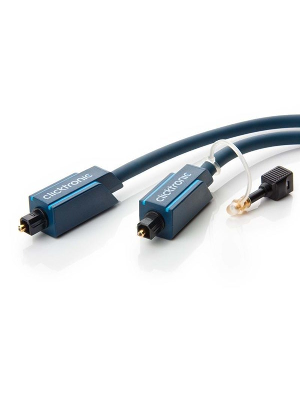 Image of   ClickTronic Optical Toslink Cable - 1m