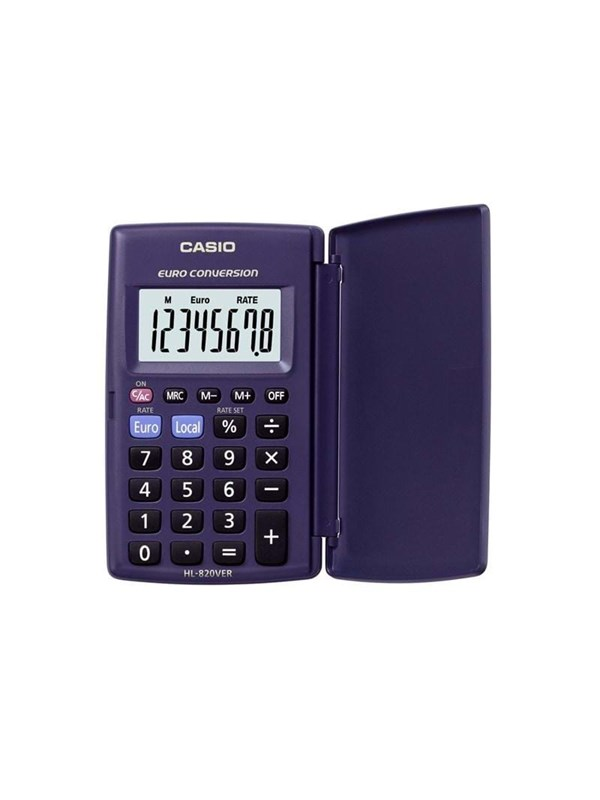 Image of   CASIO HL-820VER-SA-EH