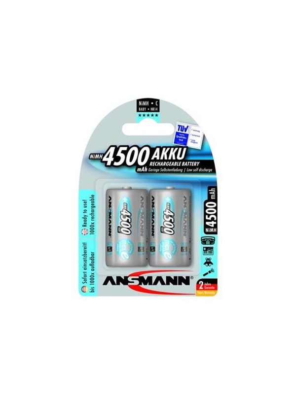 Image of   ANSMANN Batterier - 5035352