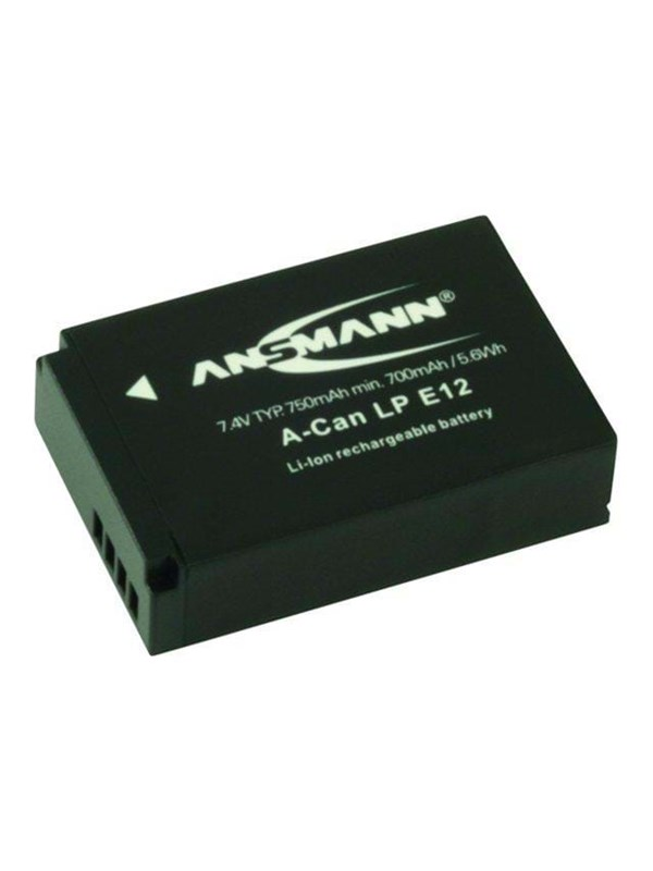 Image of   ANSMANN A-Can LP-E12 Powerbank - Grøn - 750 mAh