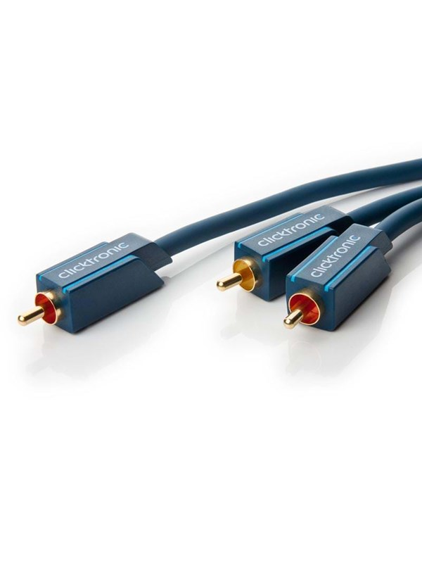 Image of   ClickTronic Subwoofer RCA Cable - 10m
