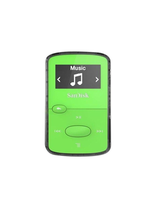 Image of   SanDisk Clip Jam Green - 8GB