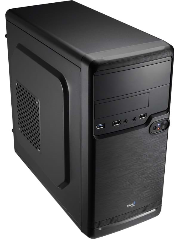 Image of   AeroCool QS-182 - Kabinet - Minitower - Sort