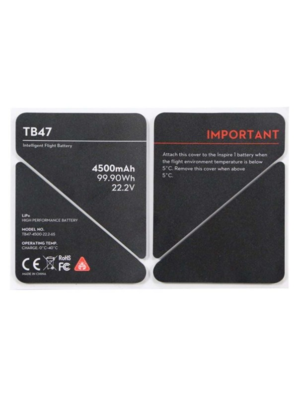 Image of   DJI Inspire TB47 Insulation sticker