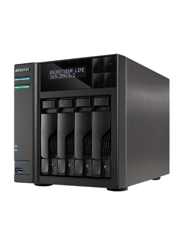 Image of   ASUSTOR AS7004T - NAS & Streaming-server