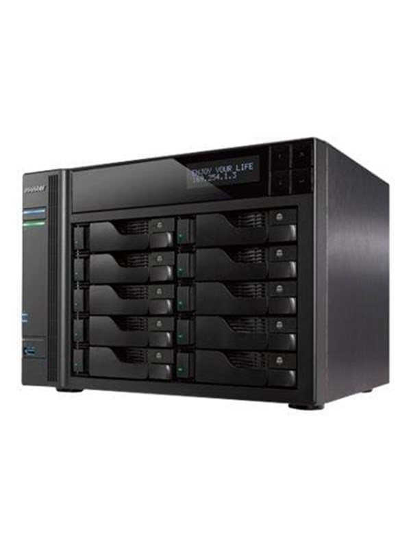 Image of   ASUSTOR AS7010T - NAS & Streaming-server