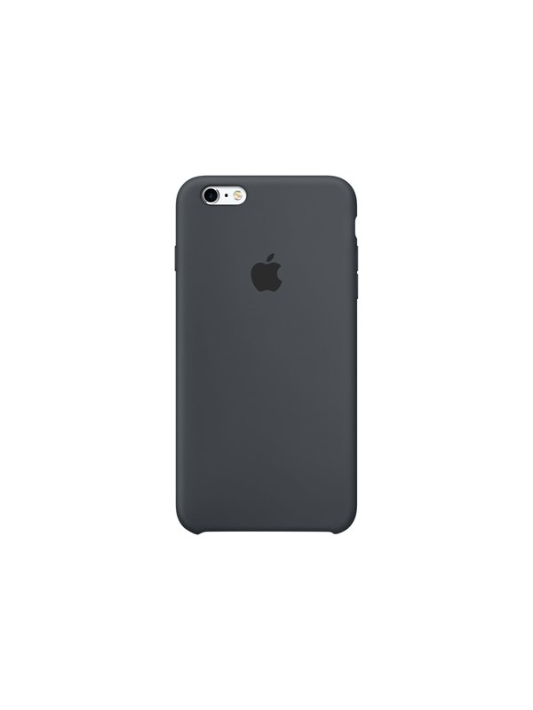 Image of   Apple iPhone 6/6s Silicone Case - Charcoal Gray