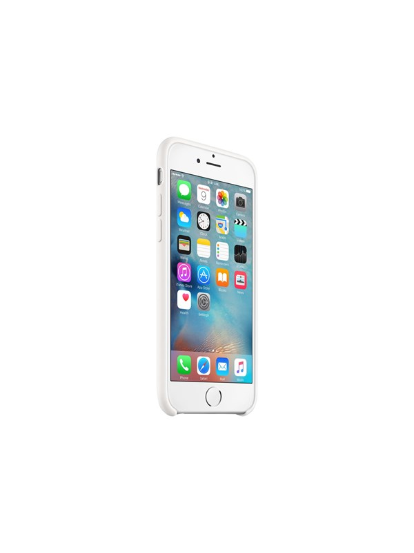 Image of   Apple iPhone 6/6s Silicone Case - White