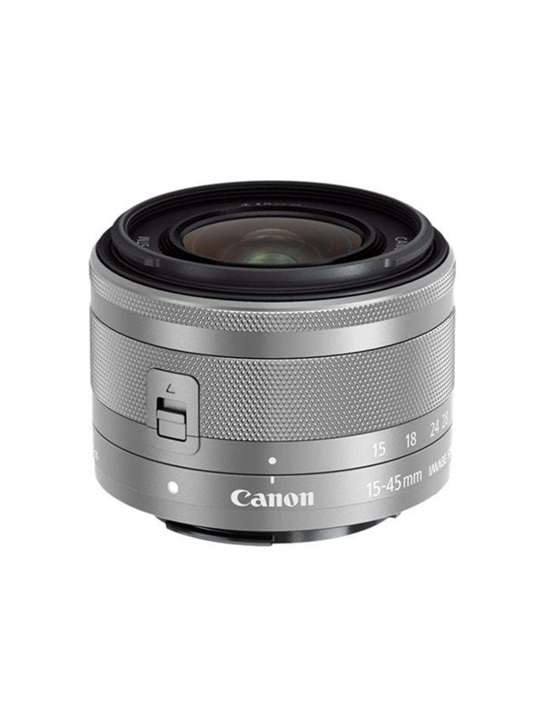 Image of   Canon EF-M 15-45mm IS STM - Silver