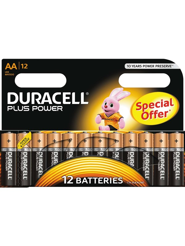 DURACELL Plus Power AA - 12 Pack