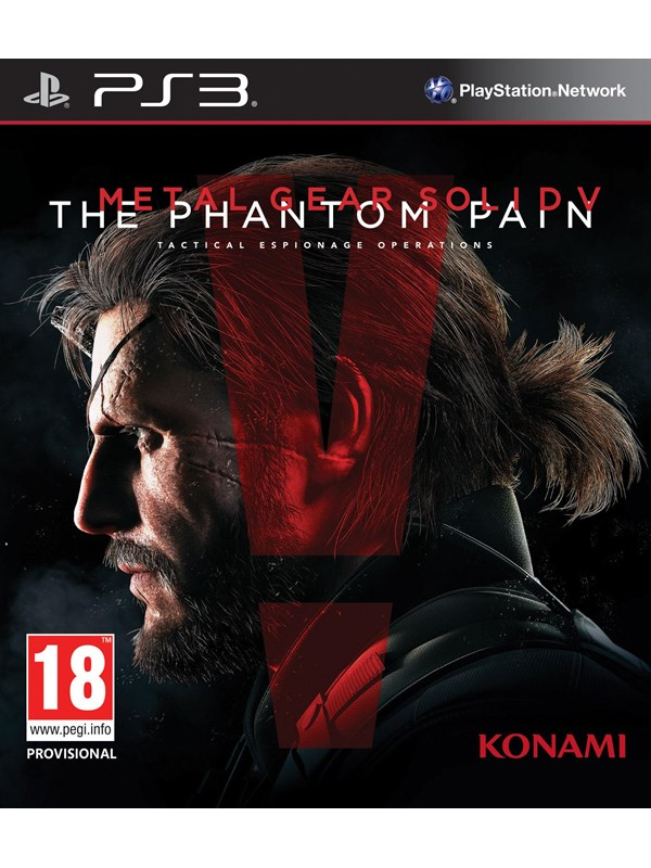 Metal Gear Solid V: The Phantom Pain - Sony PlayStation 3 - Action