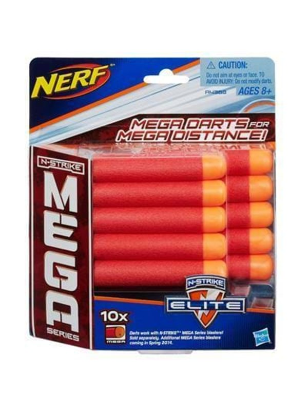 Image of   NERF N-Strike Refill Mega 10 Darts