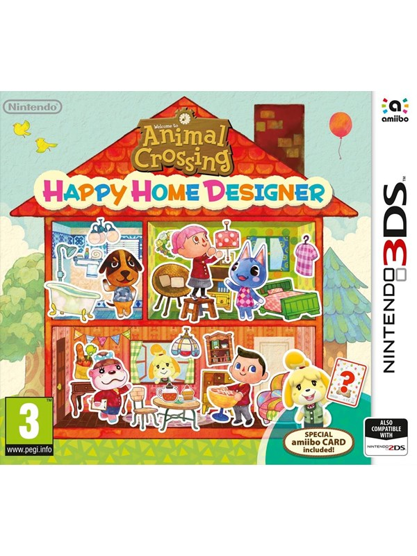 Image of   Animal Crossing: Happy Home Designer - Nintendo 3DS - RPG
