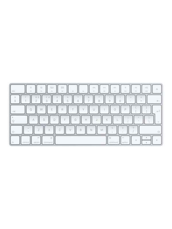 Image of   Apple Magic Keyboard - White - UK - Tastatur - Engelsk - Hvid
