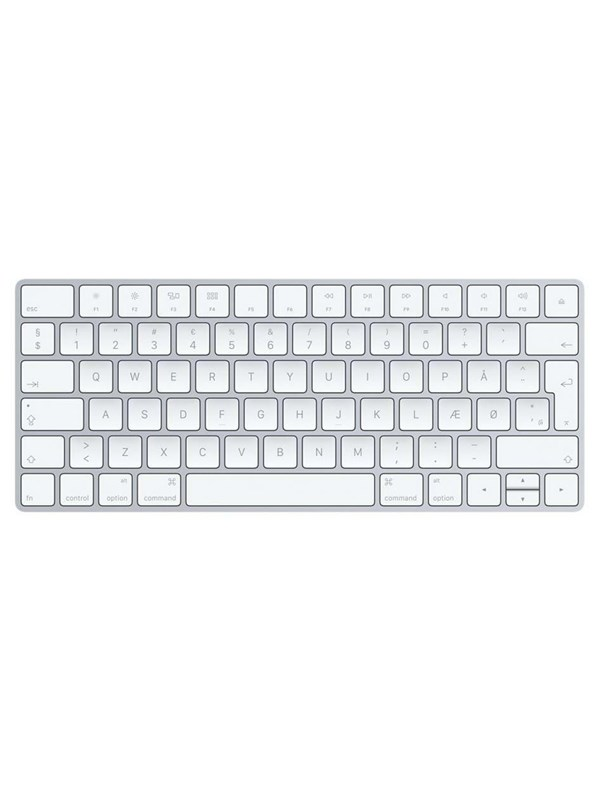 Image of   Apple Magic Keyboard - Silver - US - Tastatur - Amerikansk engelsk - Sølv