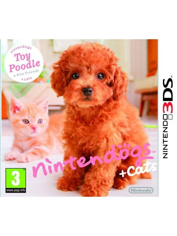 Dogs and Cats Toy Poodle New Friends - Nintendo 3DS - Virtuelle kledyr
