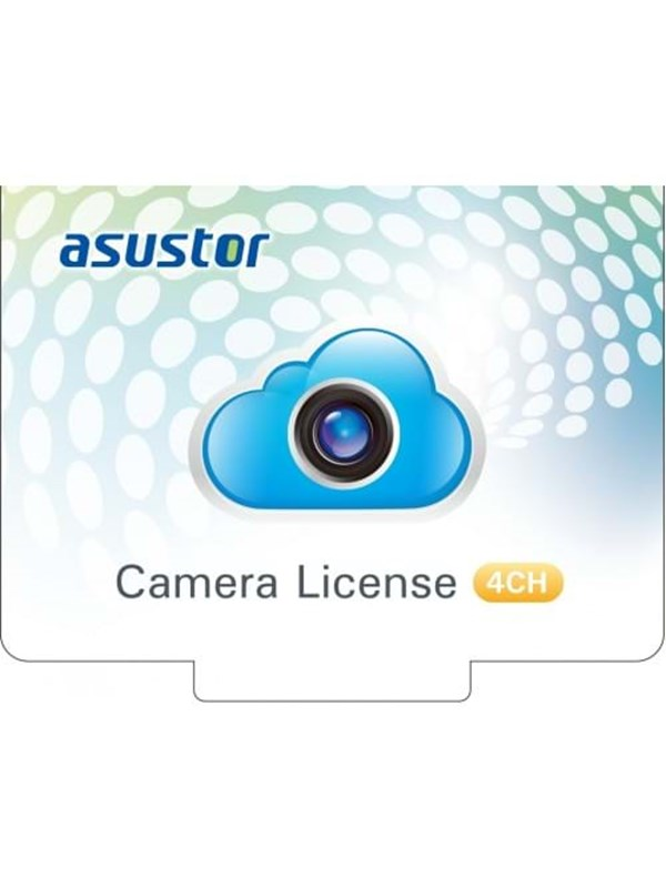 Image of   ASUSTOR AS-SCL04 - 4Ch Camera License
