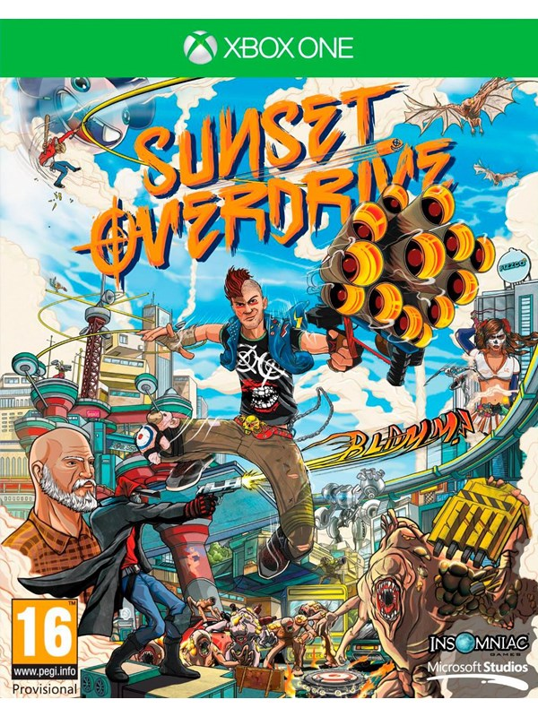 Sunset Overdrive - Microsoft Xbox One - Action