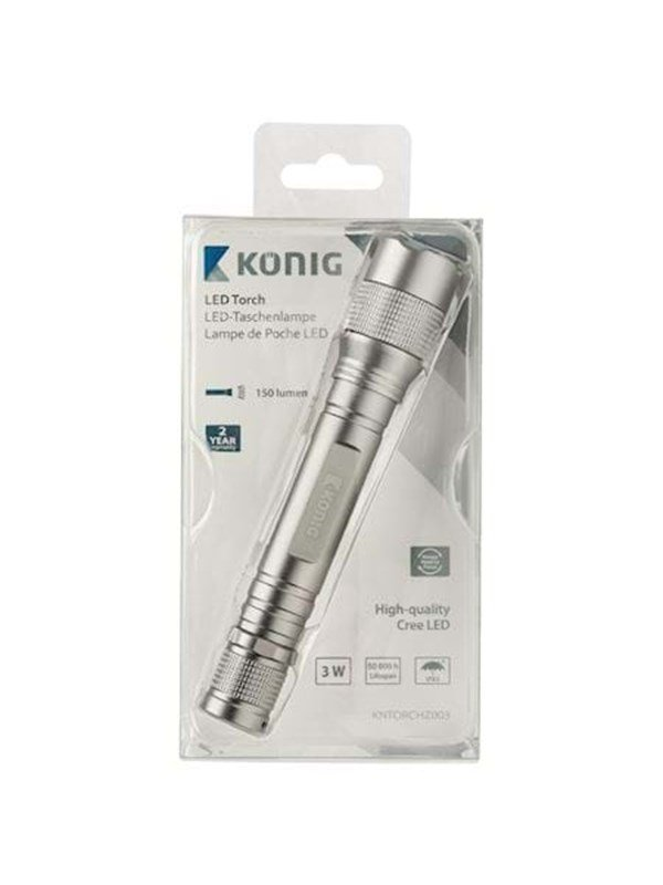 Image of   König PREM LED FLASH LIGHT 3W 150LM