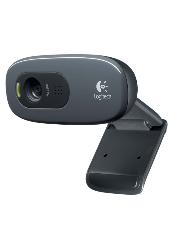Image of   Logitech C270 HD Webcam Refresh - Black