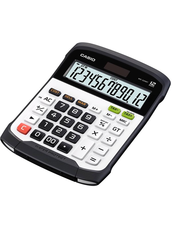 Image of   CASIO WATER-RESISTANT CALCULATOR WD-320MT