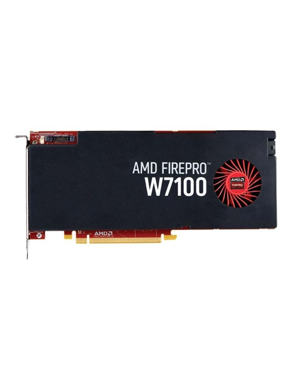 Image of   AMD FirePro W7100 - 8GB GDDR5 RAM - Grafikkort