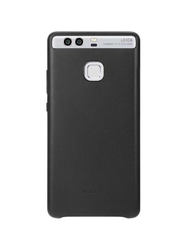 Huawei P9 Leather Case - Black
