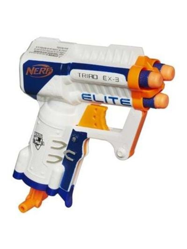 Image of   NERF N-Strike Elite Triad EX-3 Blaster