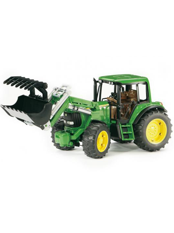 Image of   Bruder John Deere 6920 with frontloader