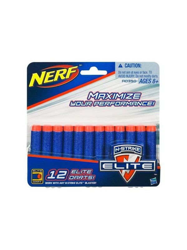 Image of   NERF N-strike Elite 12 Dart Refill