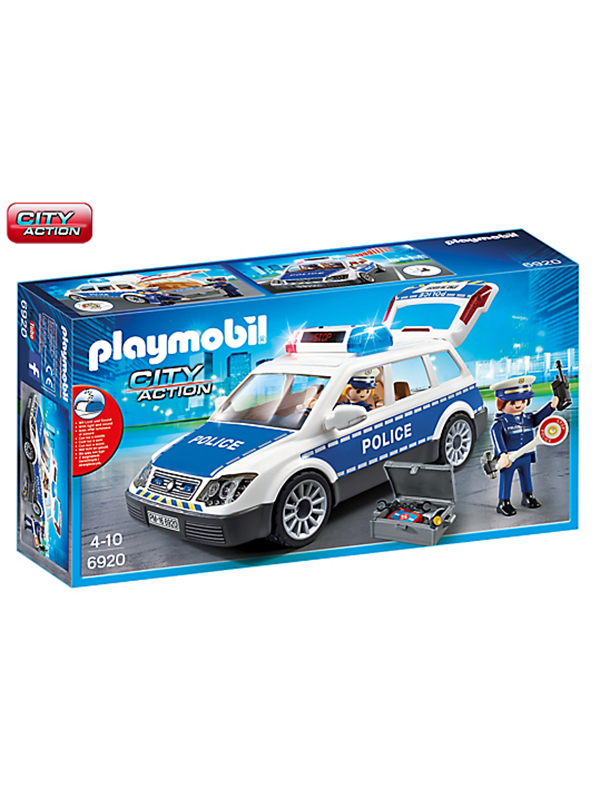 Image of   Playmobil City Action - Squad Car with Lights and Soun