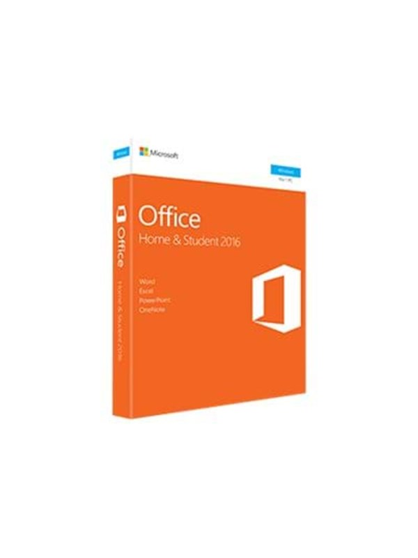 Image of   Microsoft Office Home and Student 2016 - Engelsk