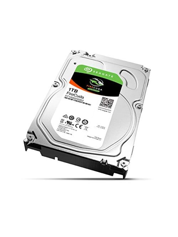 "Seagate FireCuda ST1000DX002 Harddisk - 1 TB - 3.5"" - SSD - SATA-600 - 64 MB cache"