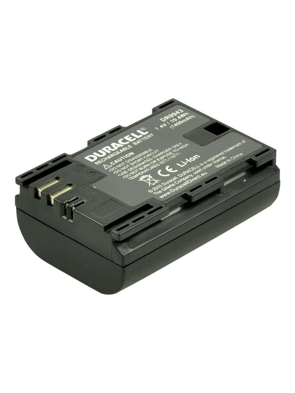 Image of   DURACELL DR9943 - replacement LP-E6N