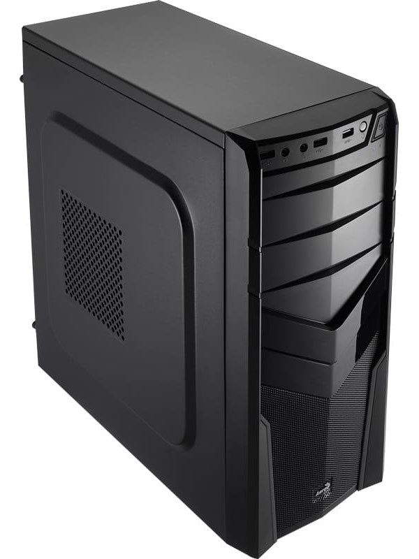Image of   AeroCool V2X Advance - Black - Kabinet - Miditower - Sort