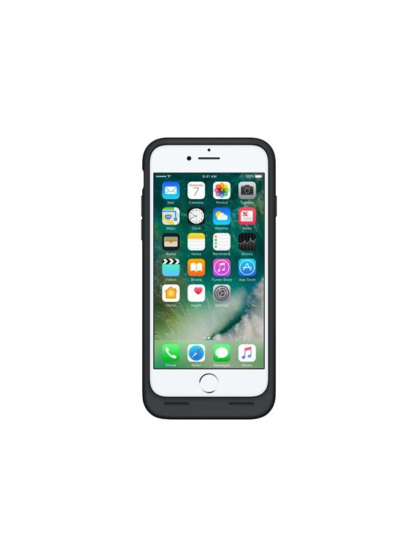 Image of   Apple iPhone 7 Smart Battery Case - Black