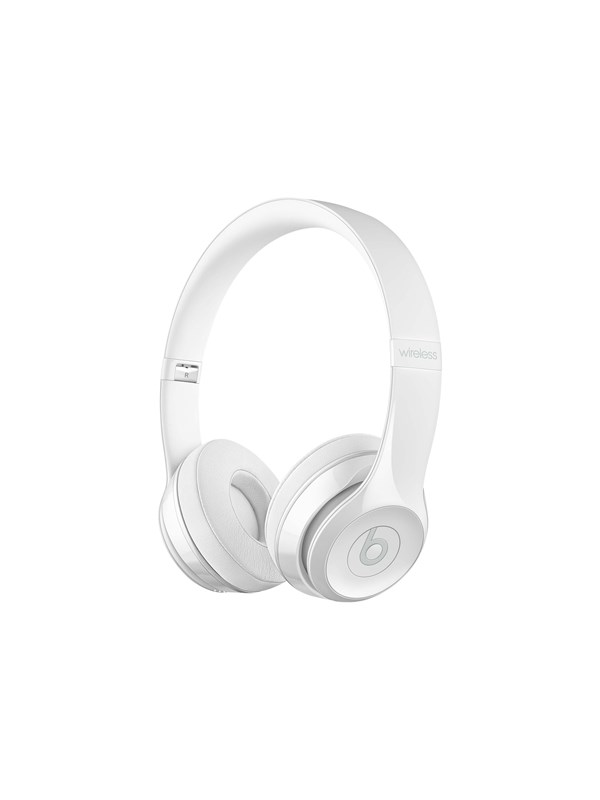 Image of   Apple Beats Solo3 Wireless - Glossy White - Hvid