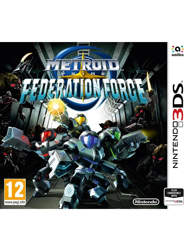 Metroid Prime: Federation Force - Nintendo 3DS - Action