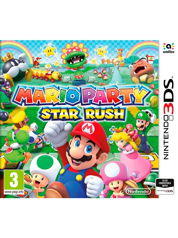 Image of   Mario Party: Star Rush - Nintendo 3DS - Fest