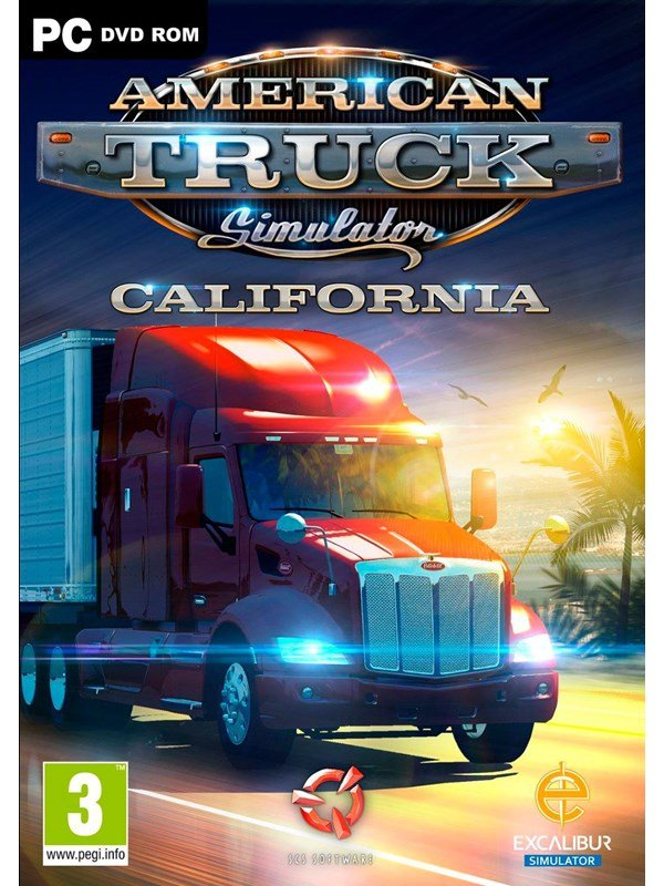 Image of   American Truck Simulator: California - Windows - Simulator