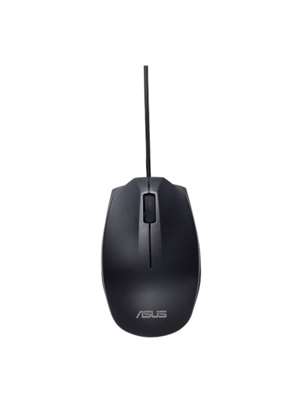 Image of   ASUS UT280 - Wired Mouse - Black - Mus - Optisk - 3 knapper - Sort