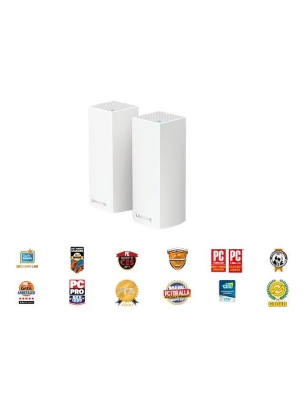 Linksys WHW0302 Velop Whole Home Mesh Wi-Fi System (pack of 2) AC2200 – Mesh router Wi-Fi 5