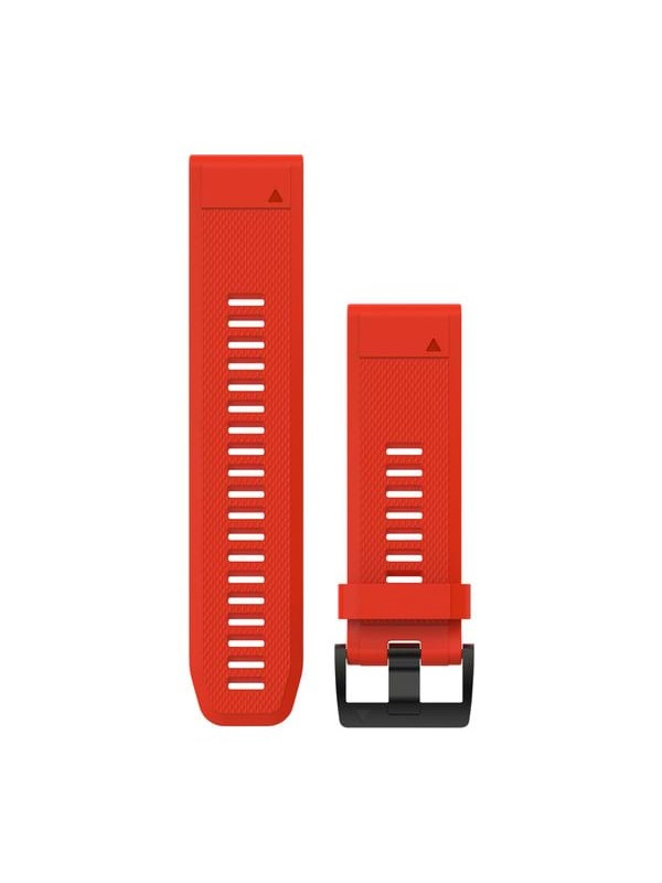 Image of   Garmin QuickFit™ 26 Watch Band Red Silicone