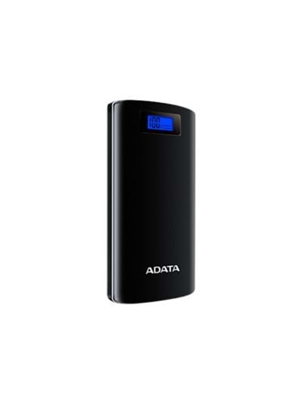 Image of   A-Data ADATA P20000D Powerbank - Sort - 20000 mAh