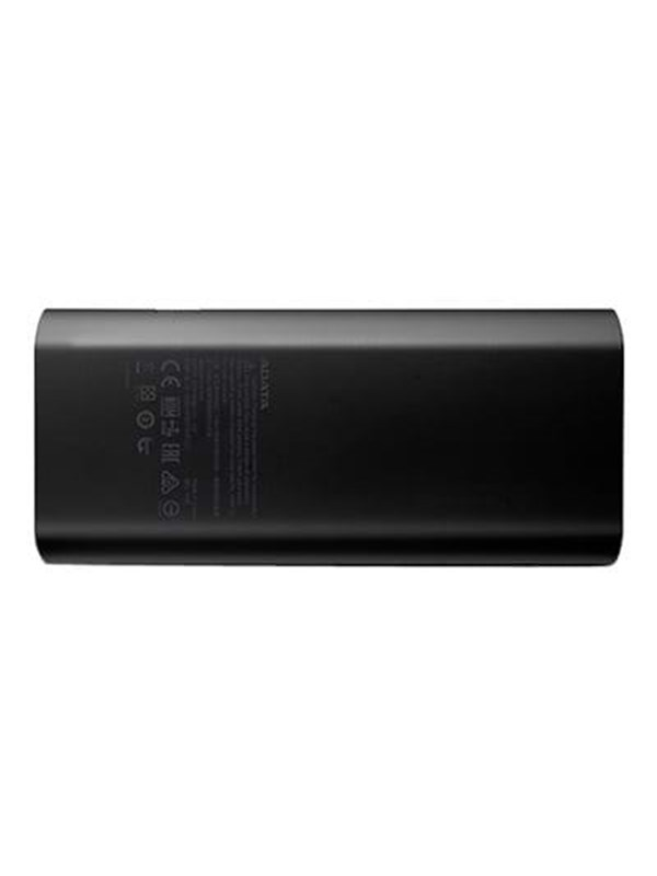 Image of   A-Data ADATA P12500D Powerbank - Sort - 12500 mAh