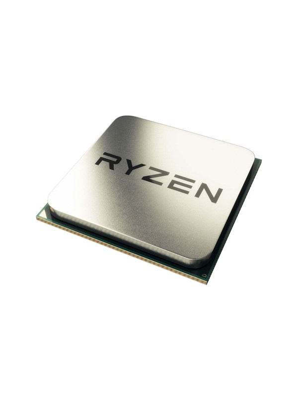 Image of   AMD Ryzen 5 1500X Wraith Spire CPU - 4 kerner 3.6 GHz - AMD AM4 - AMD Boxed (PIB - med køler)