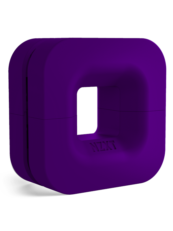 Image of   NZXT Puck Cable Management Purple