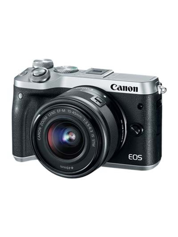 Image of   Canon EOS M6 15-45mm - Silver