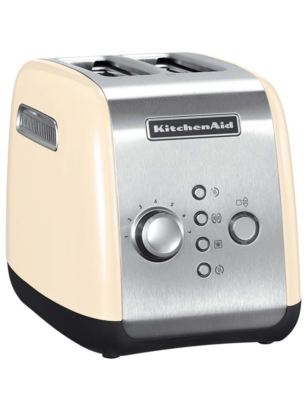 Image of   KitchenAid Brødrister 5KMT221EAC - Creme