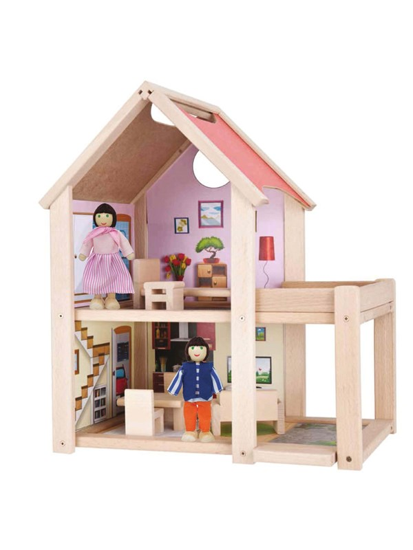 Image of   Eichhorn Doll House 9dlg.